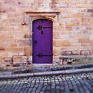 Purple Door by Richard Davis