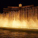 Hey Big Spender - Bellagio fountain - Vegas by Chris Brunton