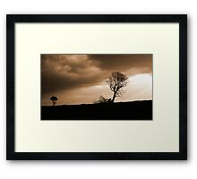 There Will Be Thunder Framed Print