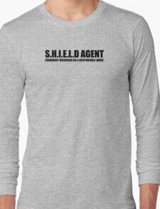 S.H.I.E.L.D AGENT Long Sleeve T-Shirt