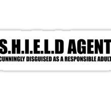 S.H.I.E.L.D AGENT Sticker
