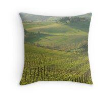 Panzano- Chianti Throw Pillow