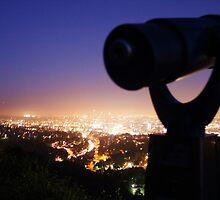 Moon Over Hollywood by KatillacPhotos