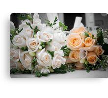 Bridal Bouquets Canvas Print