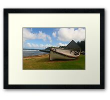The Lighter, Norfolk Island Framed Print