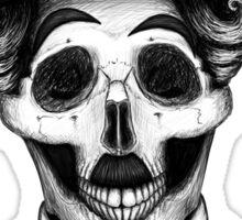 Stack's Skull Sunday No. 8 (Charlie Chaplin) Sticker