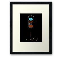 Cold Drip IV Framed Print