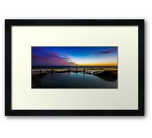 Boundaries of Attitude Framed Print