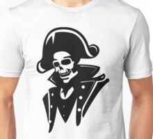 Captain Pirate Skull  Unisex T-Shirt