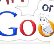 Gavin or Google Sticker