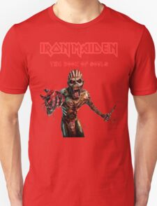IRON MAIDEN REY6 the book of souls TOUR 2016 T-Shirt