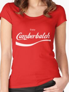 Enjoy Cumberbatch Women's Fitted Scoop T-Shirt