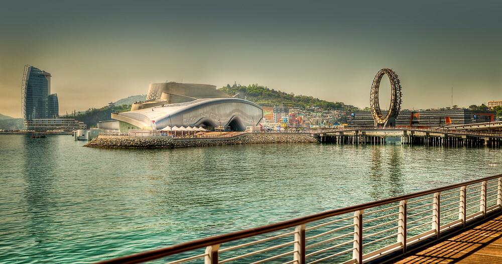 The EXPO 2012 area, Yeosu, South Korea by wulfman65