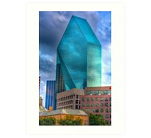 2 Fountain Place Dallas Art Print