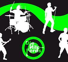 Die Nilp-Ferds Poster (Silhouetten) by DieNilpFerds