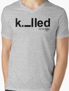 Killed Mens V-Neck T-Shirt