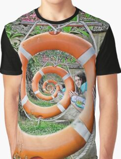 surreal spiral Graphic T-Shirt