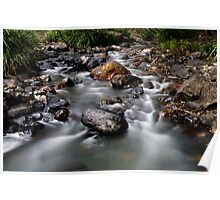 The River Flows Poster