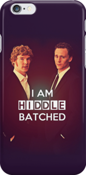 Hiddlebatched by saniday