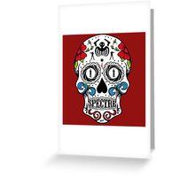 007 spectre skull logo 1 Greeting Card