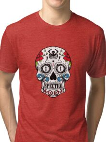 007 spectre skull logo 1 Tri-blend T-Shirt
