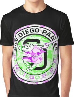 PADRES BLACK Graphic T-Shirt