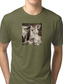 hellenic pegasus & guide Tri-blend T-Shirt