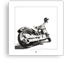 """""""Harley-Davidson Softail Slim """" Canvas Print"""