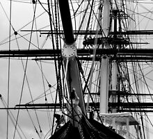 The Cutty Sark Bow by Karen Martin IPA