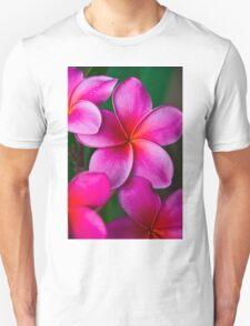 Pink Plumeria 1080 Unisex T-Shirt