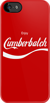 Enjoy Cumberbatch (iPhone case) by cumberqueen
