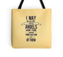The Side of the Angels Tote Bag