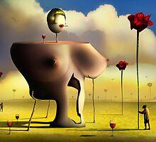 A Dama. by Marcel Caram