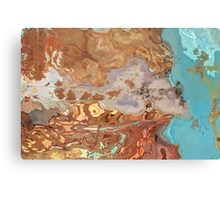 collaboration between sky and earth Canvas Print
