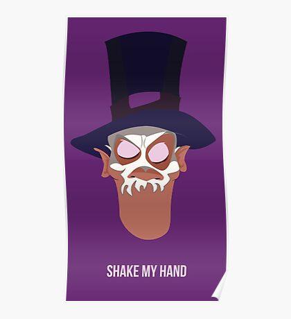 Shake my hand Poster