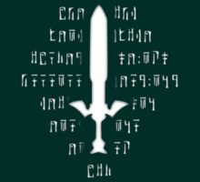 Zelda Wind Waker Master sword shirt  by brodo458