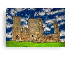 Reculver Castle - England Canvas Print