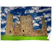 Reculver Castle - England Poster