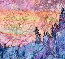 Hyperborean Landscape 2 Sticker
