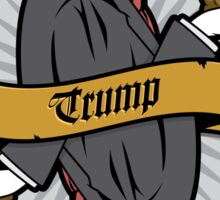 Donald Trump Card Sticker