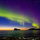 Sunset & Auroras by Frank Olsen