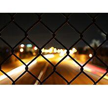 Night Light Bokeh Photographic Print