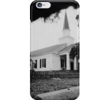 Belin Memorial United Methodist Church - Pinhole #1 iPhone Case/Skin