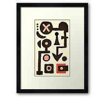 a pawn in the puzzle Framed Print