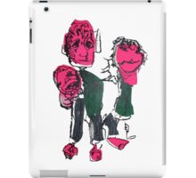Junk Puppets Colourful Family iPad Case/Skin