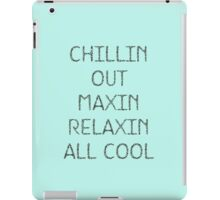 Chillin Out iPad Case/Skin