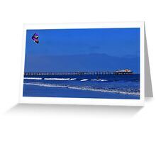 The Kite Surfer Greeting Card