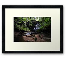 Machine Falls Framed Print