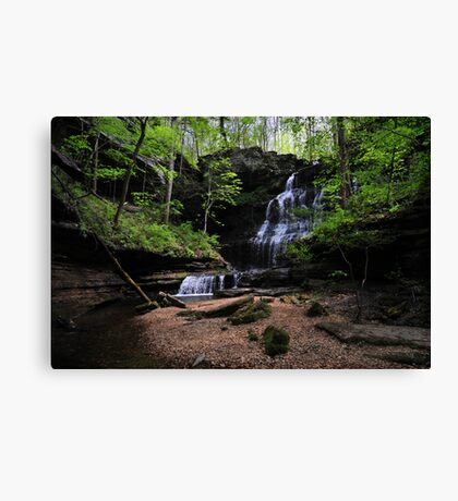 Machine Falls Canvas Print