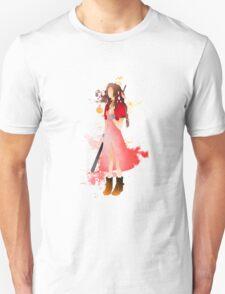 Final Fantasy 7: Aerith Gainsborough Giclee Art Print T-Shirt